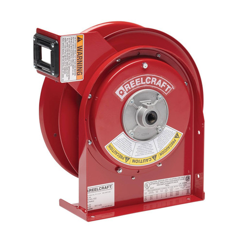 Reelcraft L 4500 Heavy Duty Power Cord Reel | 125 Volt / 20 Amp | 45 Ft. Cable Length | Reel Without Cord