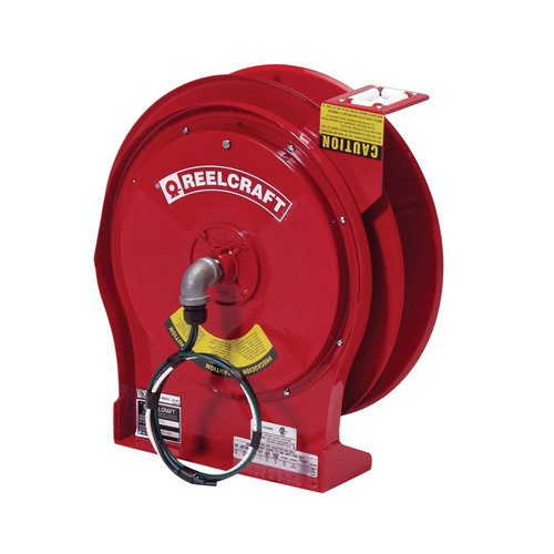 Reelcraft L 5700 Heavy Duty Power Cord Reel | 125 Volt / 30 Amp | 50 Ft. Cable Length | Reel Without Cord