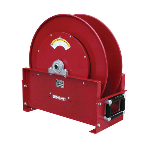 Reelcraft TH9200 OMPBW Dual Hydraulic Spring Retractable Hose Reel | 1/2 in. Hose Diameter | 65 Ft. Hose Length | 2,000 Max PSI