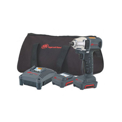 """Ingersoll Rand W1110-K2 Quick Change Anvil Cordless Impact Wrench Kit 