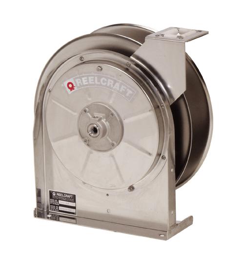 Reelcraft 5600 OLS Corrosion Resistant Hose Reel   3/8 in. Hose Diameter   35 Ft. Hose Length   500 Max PSI