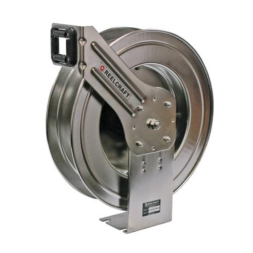 Reelcraft LC607 OLS Corrosion Resistant Hose Reel   3/8 in. Hose Diameter   70 Ft. Hose Length   300 Max PSI
