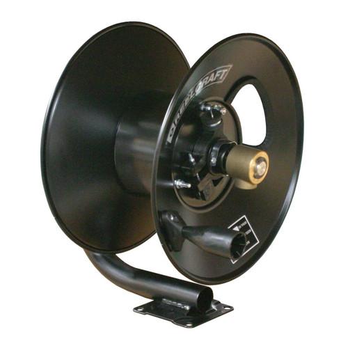 Reelcraft CT6050HN Light Duty Hand Crank Hose Reel | 3/8 in. Hose Diameter | 50 Ft. Hose Length | 5,000 Max PSI
