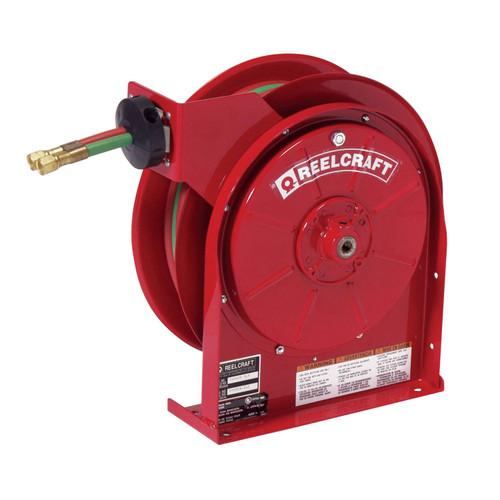 Reelcraft TW5425 OLPT Gas Welding Hose Reel | 1/4 in. Hose Diameter | 25 Ft. Hose Length | 200 Max PSI