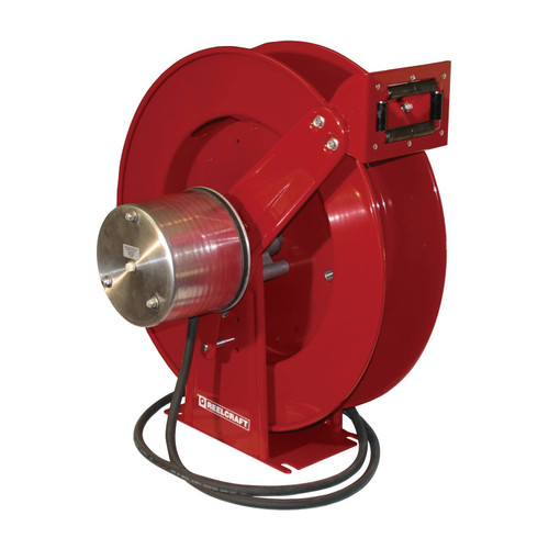 Reelcraft WC80001 Welding Cable Hose Reel | 400 Amp | 75 Ft. Cable Capacity | Spring Driven