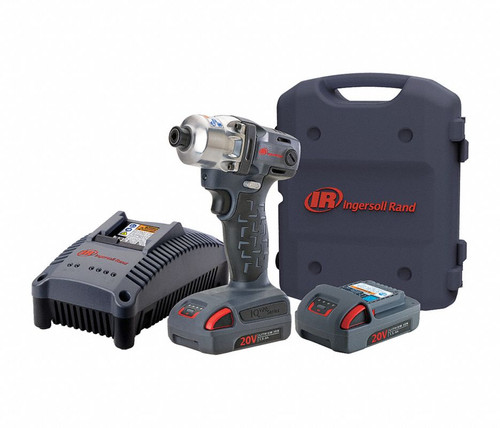 """Ingersoll Rand W5111-K22 Cordless Quick Change Anvil Impact Wrench Kit 