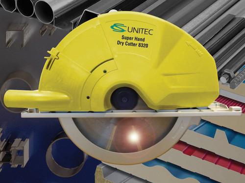 "CS Unitec 608270 U Dry Cutting Circular Saw | 12-5/8"" Diameter | 1,400 RPM"