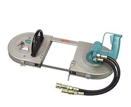 "CS Unitec 5 6041 0010 Deep Throat Hydraulic Band Saw | 7"" x 7"" Cutting Capacity | 1.6 HP | 2,000 PSI"