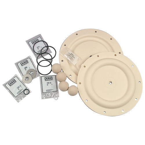 """ARO 637140-11 Fluid Section  Repair Kit for 1/2"""" Classic Style Diaphragm Pump"""