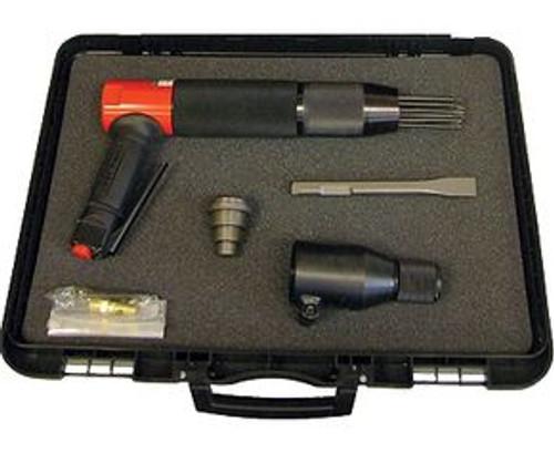 "CS Unitec 199.3103 Vibro-Lo Needle/Chisel Scaler Kit | 3mm Needle | 3/4"" Blade Chisel"