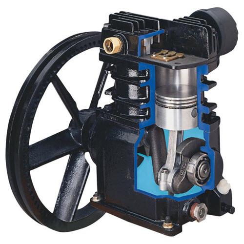 Ingersoll Rand SS3 Single-Stage Air Compressor Bare Pump | 3 HP | 30 Horizontal Gallon Tank