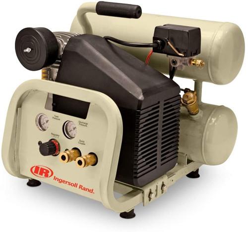 Ingersoll Rand P1IU-A9 Reciprocating Air Compressor | 42672949 | 2 HP | 115 Volts | 1-Phase | 4.3 ACFM | 135 PSI | 4.5 Gallon Tank