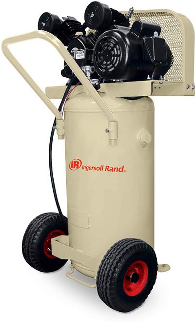 Ingersoll Rand P1.5IU-A9 Reciprocating Air Compressor | 42663401 | 2 HP | 115 Volts | 1-Phase | 5.2 ACFM | 135 PSI | 20 Vertical Gallon Tank