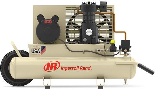 Ingersoll Rand SS3J2-WB (w/SUK) Reciprocating Air Compressor | 49812977 | 2 HP | 115/230 Volts | 1-Phase | 5.7 ACFM | 135 PSI | 8 Gallon Tank
