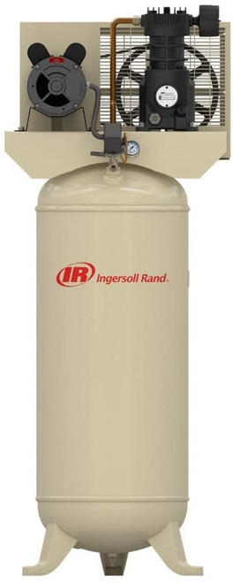 Ingersoll Rand SS3L3 (w/SUK) Reciprocating Air Compressor | 32334062 | 3 HP | 230 Volts | 1-Phase | 11.3 ACFM | 135 PSI | 60 Vertical Gallon Tank