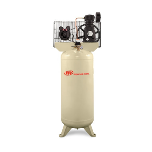 Ingersoll Rand SS5L5 (w/SUK) Reciprocating Air Compressor | 20103180 | 5 HP | 230 Volts | 1-Phase | 18.1 ACFM | 135 PSI | 60 Vertical Gallon Tank
