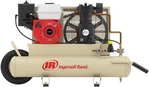 Ingersoll Rand SS3J5.5GH-WB (w/SUK) Reciprocating Air Compressor | 49813017 | 5.5 HP | Honda | 11.8 ACFM | 135 PSI | 8 Twin Gallon Tank