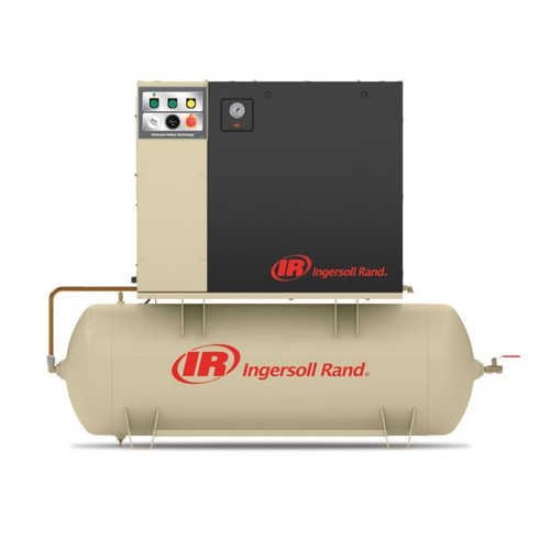 Ingersoll Rand UP6-10TAS-125 Rotary Screw Air Compressor w/ Total Air System| 18004457