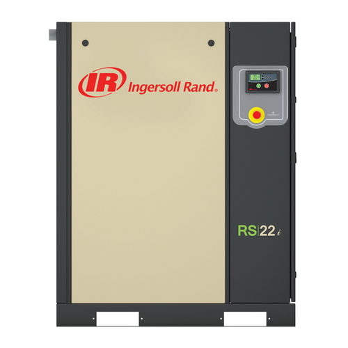 Ingersoll Rand RS11i-A125 Rotary Screw Air Compressor | 47660390001 | 15 HP | 575 Volts | 3-Phase | 64 ACFM | 125 PSI | Base Mount