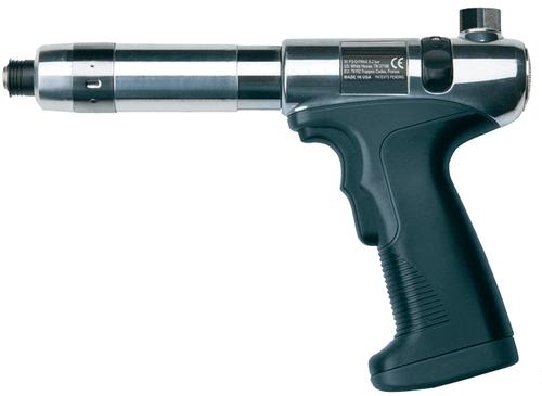 Ingersoll Rand 41PA8TPQ4 Pistol Grip Pneumatic Screwdriver | 800 RPM | 15 - 100 (in-lb) Torque Range | Adjustable Shut-Off Clutch | Trigger and Push-To-Start