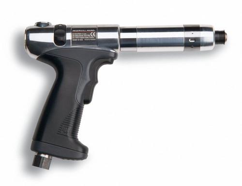 Ingersoll Rand QP1S10S1D Pistol Grip Pneumatic Screwdriver | 1,000 RPM | 2.7 - 39.8 (in-lb) Torque Range | Adjustable Shut-Off Clutch | Trigger-Start
