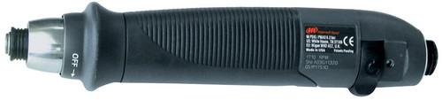 Ingersoll Rand QS1P10C1D Inline Pneumatic Screwdriver | 1,000 RPM | 3 - 40 (in-lb) Torque Range | Adjustable Cushion Clutch | Push-to-Start