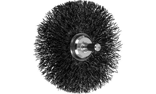 "PFERD 82900 Crimped Wire Wheel Brush | 3""Diameter | Carbon Steel Wire | Box of 10"