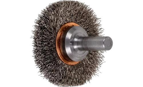 "PFERD 82905 Crimped Wire Wheel Brush | 1-1/2""Diameter | Stainless Steel Wire | Box of 10"