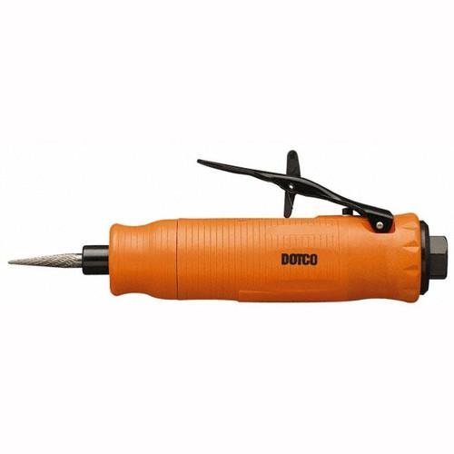 "Dotco 12L1080-36 Inline Grinder | 12-10 Series | 0.3 HP | 30,000 RPM | 1/4"" Collet | Composite Housing | Rear Exhaust"