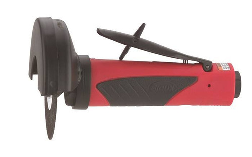 Sioux Tools SCO10S184R Inline Cut-off Tool | 1 HP | 18000 RPM | Rear Exhaust