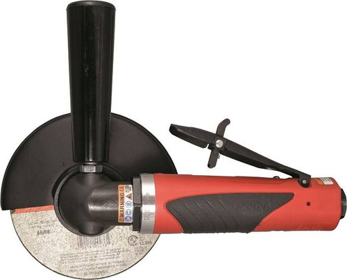 Sioux Tools SCO10A106 Angle Cut-off Tool   6.0 Blade Dia.   10000 RPM   Rear Exhaust