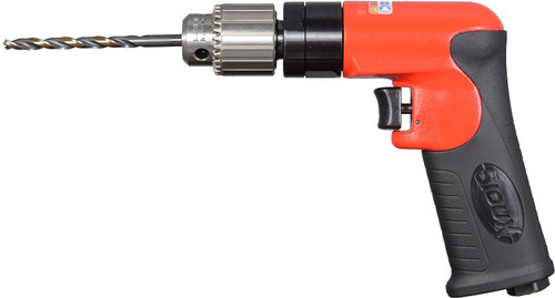 """Sioux Tools SDR5P26N2 Non-Reversible Pistol Grip Drill 