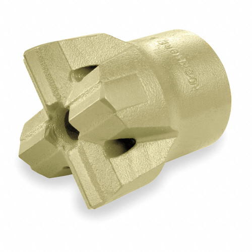 "Ingersoll Rand 51248300 ""H"" Thread Multi-Use Carbide Bit | 1-1/2"" Bit | 1"" x 4-1/4"" Hex Shank"