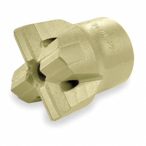 "Ingersoll Rand 51248326 ""H"" Thread Multi-Use Carbide Bit | 1-3/4"" Bit | 1"" x 4-1/4"" Hex Shank"