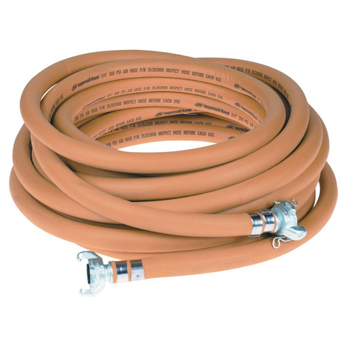 Ingersoll Rand 22040679 Double-Banded Universal Air Hose   Both Ends   50 ft. Length