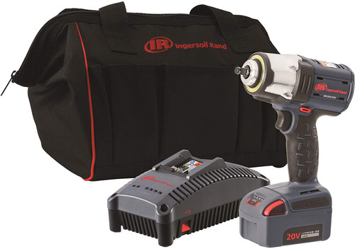 """Ingersoll Rand W7152P-K22 Pin Anvil Cordless Impact Wrench Tool Kit 