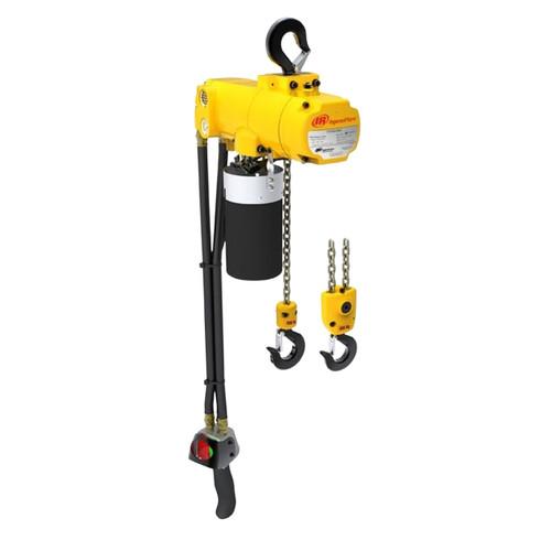 Ingersoll Rand CLK | CL500K-2C30-C26U | 1/2 Ton Air Hoist | 30 Ft. Lift | Hook Mount | Pendent Control