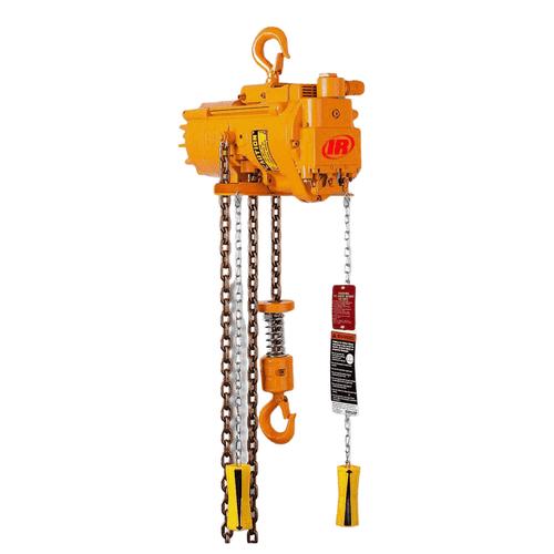 Ingersoll Rand HLK | HL1500K-2C20-C16U | 1-1/2 Ton Air Hoists | 20Ft. Lift | Hook Mount | Pendent Control
