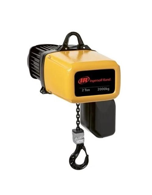 Ingersoll Rand ELK | ELK100-1ND100H-15-11-4CF15 | 1 Ton Electric Hoist | 15Ft. Lift | Hook Mount | Pendent Control