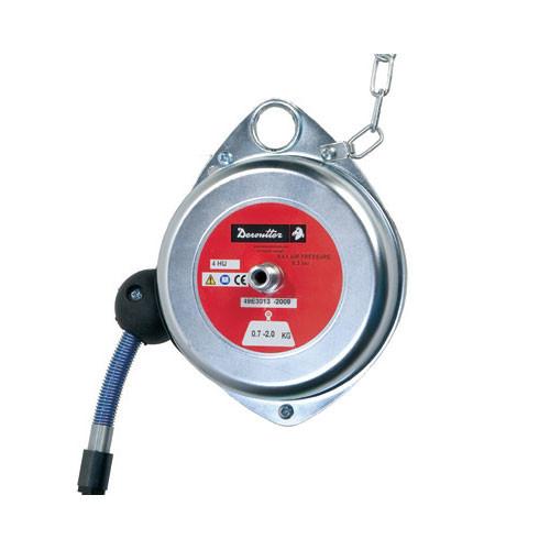 Desoutter 50562 Ergonomic Polyurethane Hose Balancer | 4HU Model | Steel Housing | 4.4 lb Max. Load Capacity
