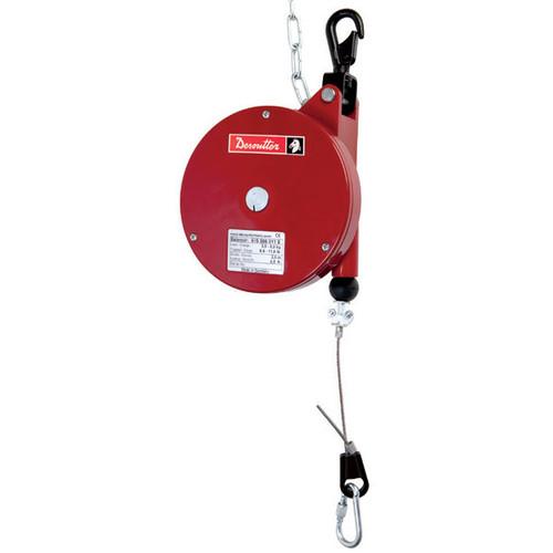 Desoutter 6158050120 Ergonomics Balancer | 7DF Model | 360° Swiveling Safety Hook | Reaction Free | 15.4 lb Max. Load Capacity