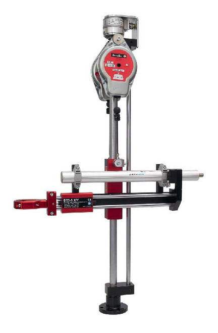 Desoutter 6158122700 Linear Positioning Arm for CVI3 | D53-50 X/Y-AXLE CANOPEN | Max Torque 36.8 ft-lb | Equipped with 2x15D Balancer