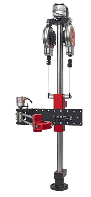 Desoutter 6158122750 Folded Positioning Arm for CVI3 | D53-50 S X/Y-AXLE CANOPEN | Max Torque 36.8 ft-lb | Equipped with 2x15D Balancer