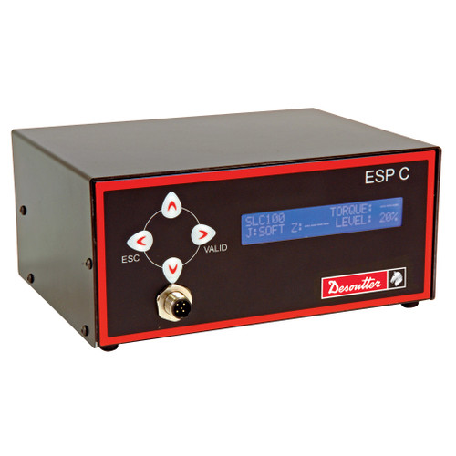 Desoutter ESP C LT 110V Advanced Controller | 4.4-61.9 (in-lb) Torque Range | For Desoutter SLC Series Screwdrivers