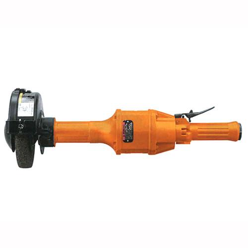 Cleco 1760HL-16 Cut-Off Wheel Horizontal Grinder   Lock Off Lever Throttle   1700 Series   3.1 HP   6,000 RPM   Steel Housing