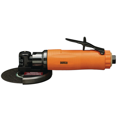 Dotco 12L2718-28 Right Angle Grinder | 12-27 Series | 0.9 HP | 18,000 RPM | Composite Housing | Rear Exhaust