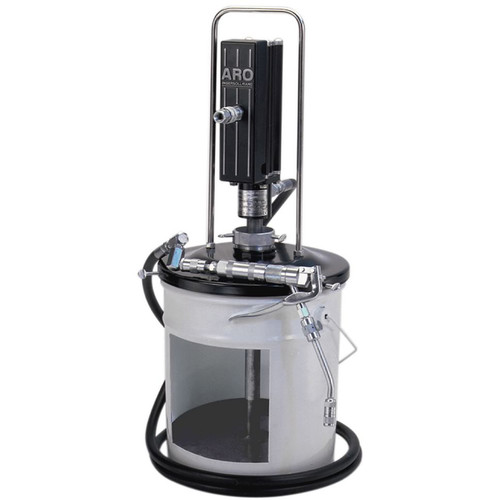 "Ingersoll Rand ARO LP3002-1 Piston Grease Pump Package | LP Series | 3"" Air Motor 120 lb | 50:1 Pump Pressure Ratio"