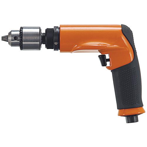 Dotco 14CNL97-53 Non-Reversible Pistol Grip Pneumatic Drill   14CNL Series   0.9 HP   500 RPM   Rear Exhaust