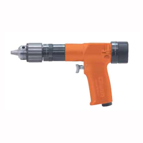 Cleco 135DPV-28B-51 Variable Speed Pistol Grip Pneumatic Drill   135DPV Series   2,600 RPM   Aluminum Housing   Rear Exhaust
