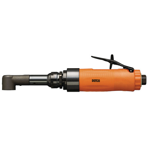 Dotco 15LS283-62 Light Duty Head Right Angle Pneumatic Drill   15LS Series   0.6 HP   2,010 RPM   Composite Housing   Rear Exhaust